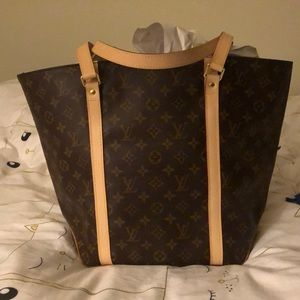 Louis Vuitton Sac Shopper Tote 48 EUC